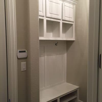 Custom Laundry/Mud Room Cabinets