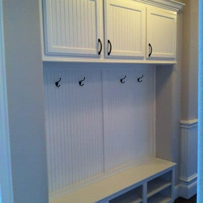 Custom Laundry/Mud Room Cabinets