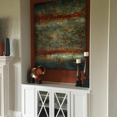 Custom Family Room Cabinets
